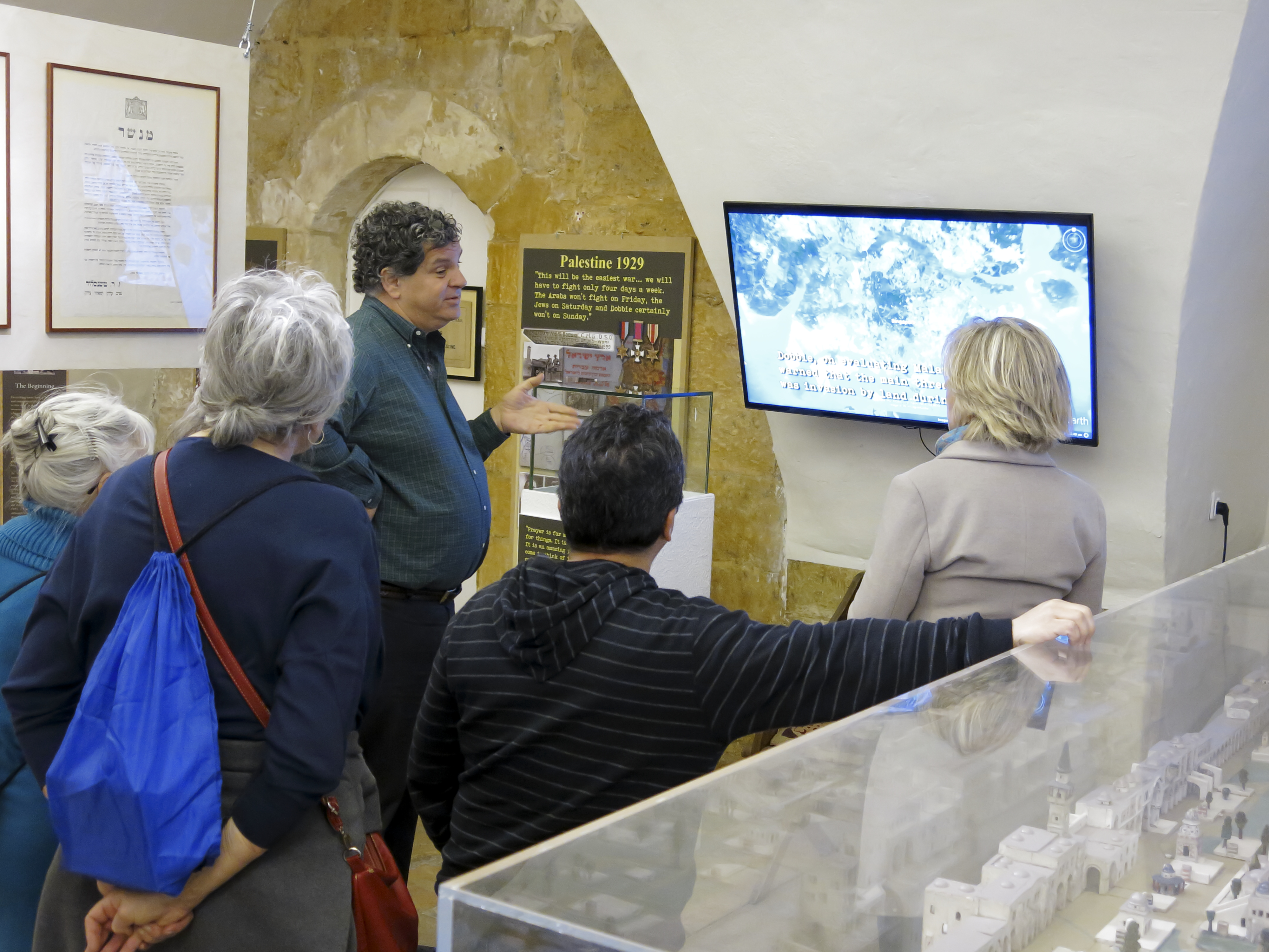Personal and interactive tours are available