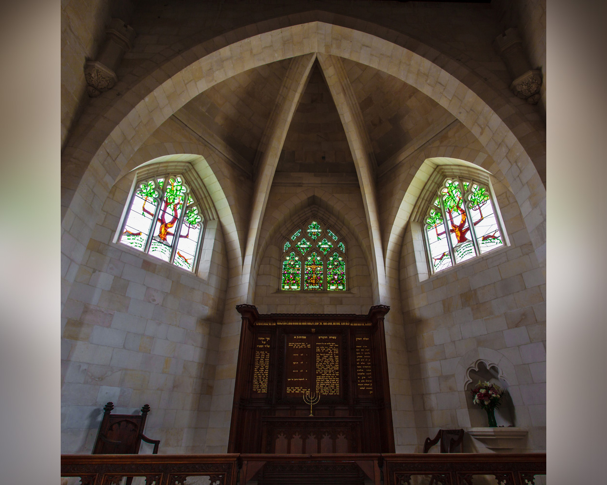 Apse and chancel