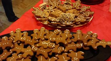 Christmas Cookies at Christ Church Jeursalem