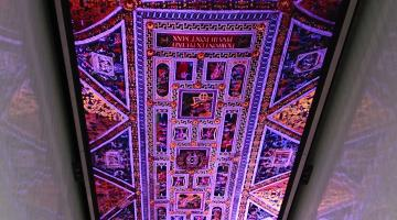 Ceiling in the Museum of the Bible