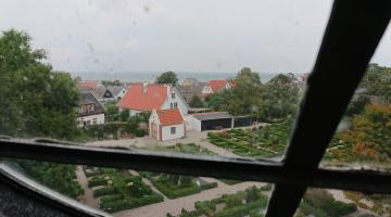 View from Church window in Gilleleje
