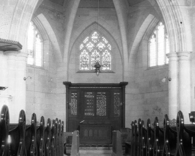 Christ Church altar after 1915
