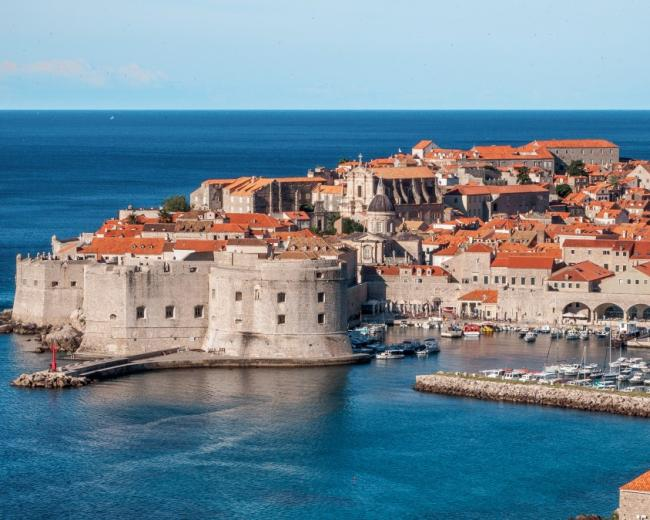 The King's Landing Fortress in Dubrovnik, Croatia