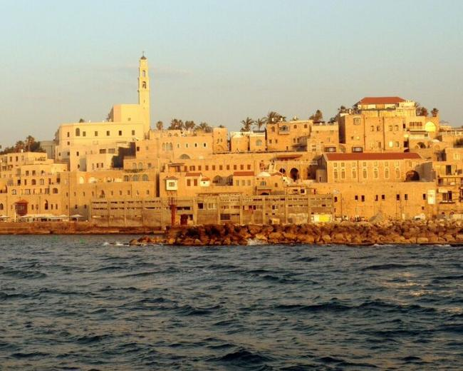Jaffa from the sea