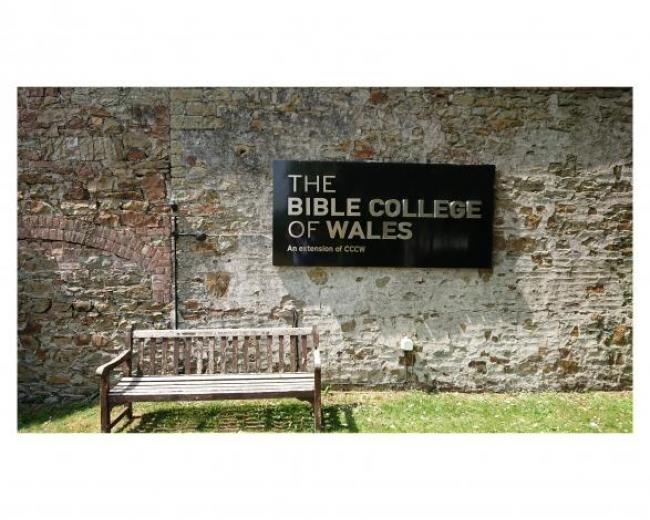 Bible College Sign
