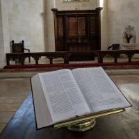 Inside Christ Church, Jerusalem