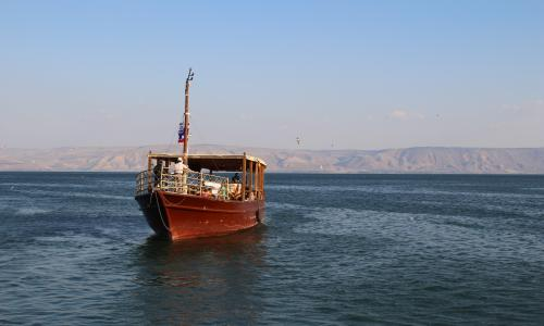 Boat on Galilee