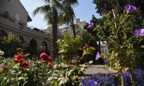 Anglican International School Jerusalem gardens